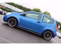 2004 Citroen C2 GT 1.6 i 16v GT Hatchback 3dr Petrol Metallic Blue RARE