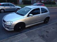 Swap sell vauxhall corsa 1.4 twinport excluive 04 leathers exhsust mot june 2017 595 ono may swop