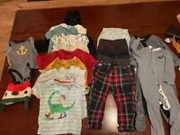 Bundle of 9-12 month baby clothes
