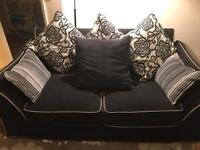 Two seater sofa, immaculate condition!