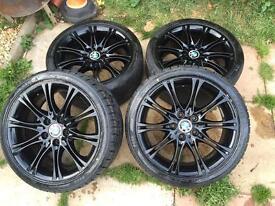 """Bmw 18"""" alloy wheels"""