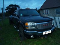 GMC 8.1 LTR SIERRA AUTO 5TH WHEEL TOWING CAMPER TRUCK WITH LPG GAS CONVERSION