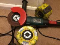 Brand new angle grinder