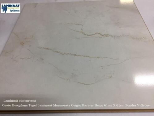 Tegel Laminaat Marmer : ≥ grote hoogglans tegel laminaat marmer look cm cm mm
