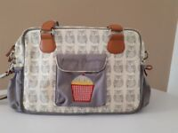 Yummy Mummy Grey Owl Changing Bag