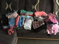 Big bundle of 2-3year old girls clothes 103items