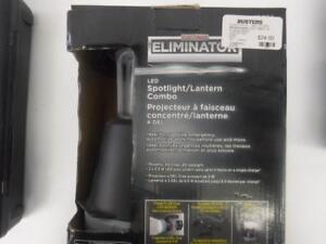 Motomaster LED Flashlight/ Spotlight Combo. We Buy and Sell Used Tools and Equipment. 42785
