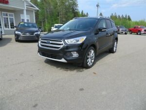 2017 Ford Escape Titanium NAVIGATION, PANORAMIC SUNROOF, LEATHER