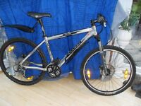 ADULTS VERY GOOD QUALITY MARIN NAIL TRAIL SUSPENSION MOUNTAIN BIKE WITH HYDROLIC DISC BRAKES
