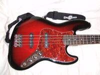 Squier Jazz Bass Standard Fender Approved Indonesia Made 2009 Near Mint Condition