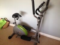 V-FIT COMBINATION MAGNETIC 2-IN-1 CYCLE-CROSS TRAINER