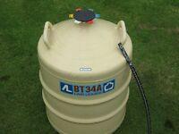 L'AIR LIQUIDE BT34 PORTABLE NITROGEN FLASK