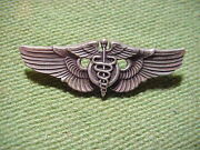 Sterling Silver Wings Pin