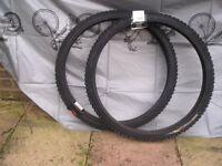 Brand New Mountain Bike tyres