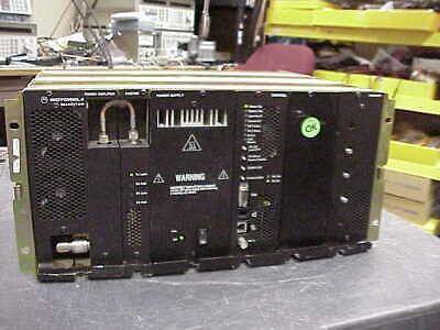 Motorola Quantar Uhf 100 Watt Gold Chassis Repeater 438-470 Mhz Range 2 V.24
