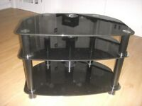"""Glass TV Stand for a 32"""" TV"""