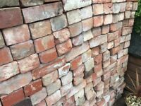 Up to 800 reclaimed house bricks