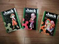 .hack // Legend of the Twilight Manga - 1st 3 volumes
