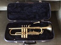 VINTAGE CORTON TRUMPET : GOOD STARTING INSTRUMENT : Used, but in good playing order