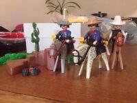 Playmobil Bandits and Sheriff