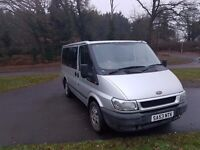FORD TRANSIT TOURNEO 53 2003 9 SEATER MINIBUS px possible