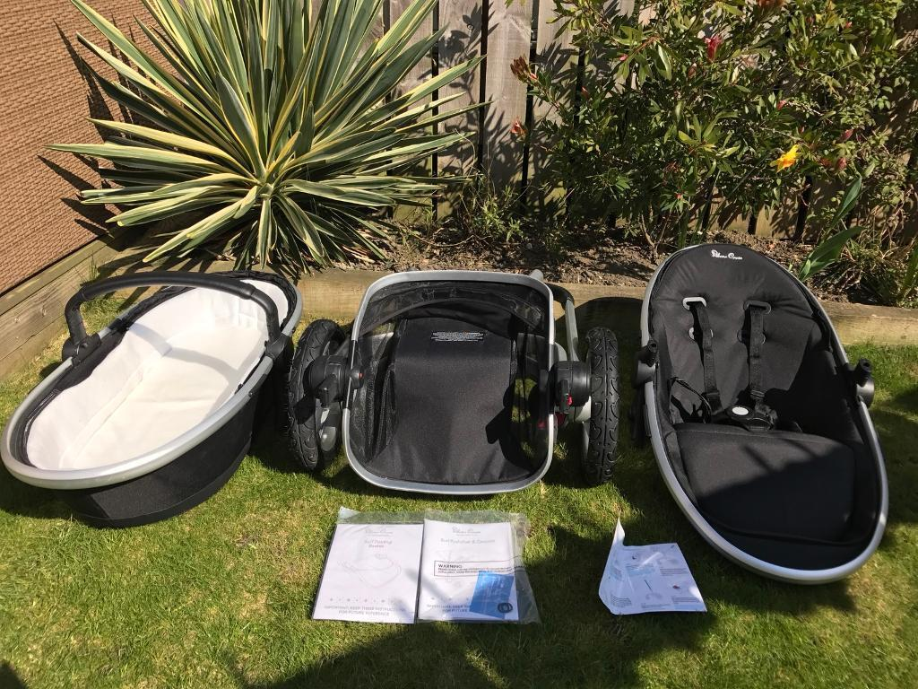 Silver Cross Surf 2 (chassis/seat/carrycot)