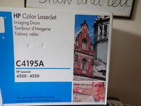 Unopened HP C4195A IMAGING DRUM HP COLOR LASERJET 4500/4550