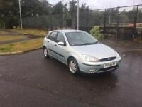Ford Focus zetec•very Low Miles•Full history•Long MOT• Astra golf clio polo fiesta