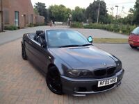 BMW 325 M SPORT AUTO CONVERTIBLE .FACE LIFT MODEL.PARKING SENSORS.HEATED SEATS .FULL SERVICE HISTORY