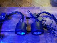 Kessil A360we with gooseneck led lights for marine aquariums