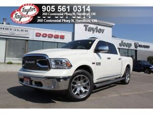 2018 Ram 1500 Limited Crew 4x4 V8 w/Air-Ride, Sunroof, Navi