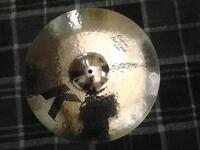 "premier owned Zildjian K 18"" Custom Fast Crash cymbal. in mint condition no issues"