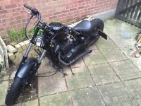 2014 Ajs bobber 125cc motorcycle customised