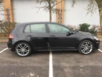 2013 VOLKSWAGEN GOLF GTD REPLICA 1.6 TDI + LOW MILES + MK7.5 + 5 DOOR / 1.2 1.4 PX GTI A3 BMW A1