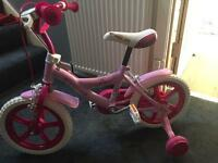 Girls bike 14inch