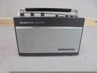 Vintage 1960's Telefunken Bajazzo, LW/MW radio