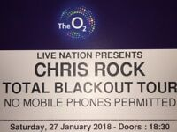 Chris Rock tickets in O2 Arena, Saturday the 27th of January