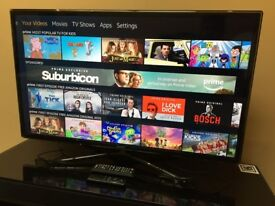 """SAMSUNG 40"""" FHD 1080p Active 3D Smart LED TV - 4 HDMI - PC - Wi Fi - Apps - SRS Bargain RRP £1399"""