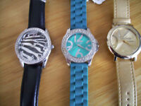 Suzi B & Gossip Ladies Quartz Watches.