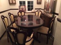 Dining Table Set with matching Corner Unit