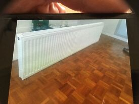 Radiator for sale.very good condition size 1800x450x80. Wall support brackets included.