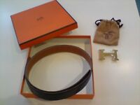 Hermes H Buckle Belt
