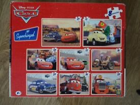 Disney Cars Jigsaws Box 8 Asstd