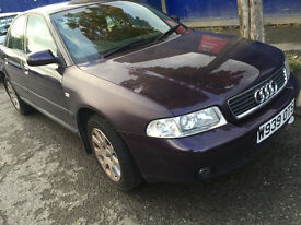 Audi A4 SE MOT till April.. NEEDS TLC