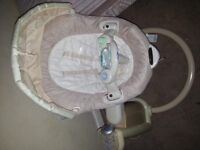 Graco sweetpeace baby swing