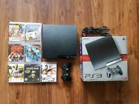 PlayStation 3 with top games Excellent condition
