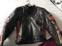 Triumph Leather Motorbike Jacket