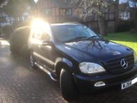 7 Seat Mercedes ML270 CDi Facelift. Service History New MOT