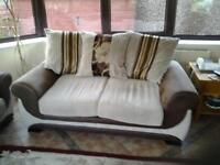 2 x 2 seater settees for sale
