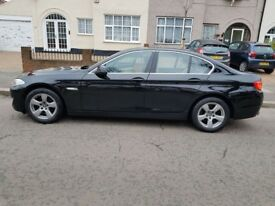 BMW 520D 4 door saloon Automatic 2011 / 60 in Black (SE)